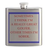 Funny golf Flask Bottles