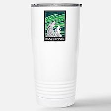 Howling Aurora Huskies Stainless Steel Travel Mug