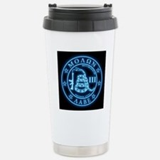 Square - Molon Labe - B Stainless Steel Travel Mug