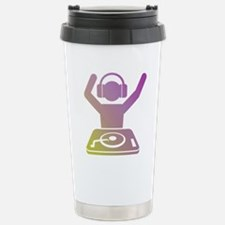 Colorful DJ Travel Mug
