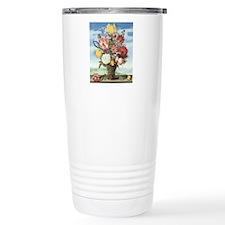 Bouquet of Flowers Travel Coffee Mug