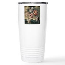 Botanical Carnations Travel Mug