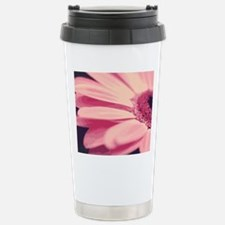 Pretty Pink Daisy Travel Mug