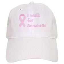 Walk for Annabelle Baseball Cap