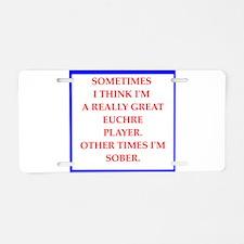 eucjre Aluminum License Plate