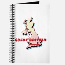Great Britain Map Journal