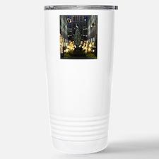 NY Holiday Square Travel Mug