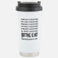 ACCEPTABLE - WHITE Travel Mug