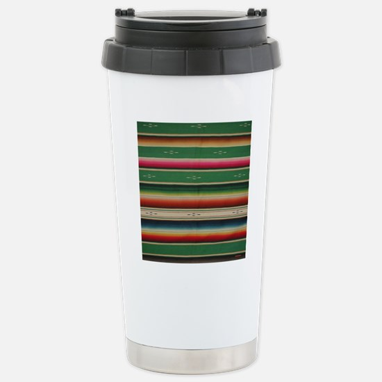 Vintage Green Mexican S Stainless Steel Travel Mug