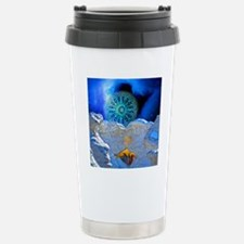 Winter Solstice Light r Stainless Steel Travel Mug