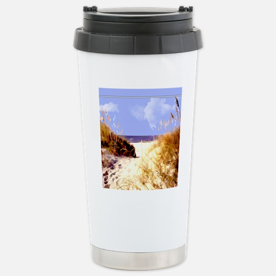 A Peek Through the Dune Stainless Steel Travel Mug