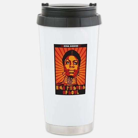High Priestess of Soul  Stainless Steel Travel Mug