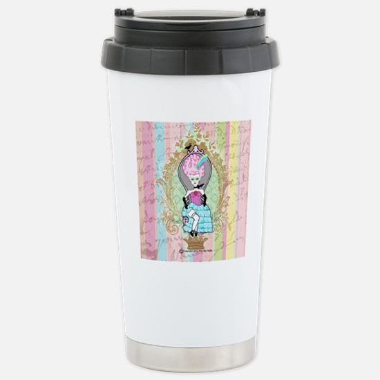 queen of prissy Stainless Steel Travel Mug