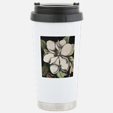 Vintage Magnolia Stainless Steel Travel Mug