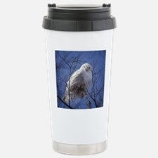 Snowy White Owl Travel Mug