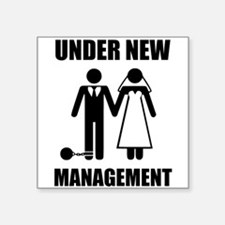 Just Married, Under New Management Sticker