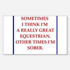 equestrian Decal