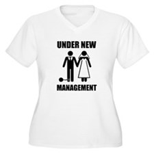 Just Married, Under New Management Plus Size T-Shi