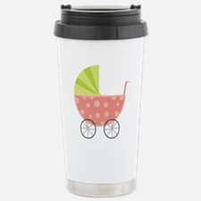 Baby Carriage Stainless Steel Travel Mug