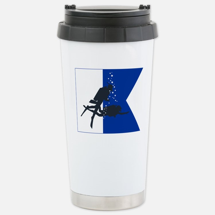 Dive Australia (white) Stainless Steel Travel Mug