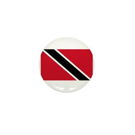 Trinidad & Tobago Flag Mini Button (100 pack)
