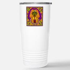 King Tut Pop Art Travel Mug