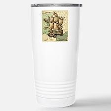 Ancient Map Travel Mug