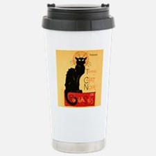 Famous black cat French Stainless Steel Travel Mug