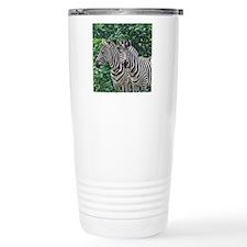 Lunch stripes Travel Coffee Mug