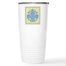 fleur-antique-blu-PLLO Travel Mug