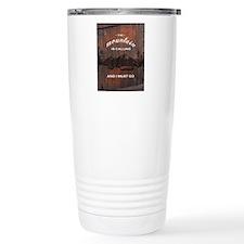 the mountain is calling Travel Mug