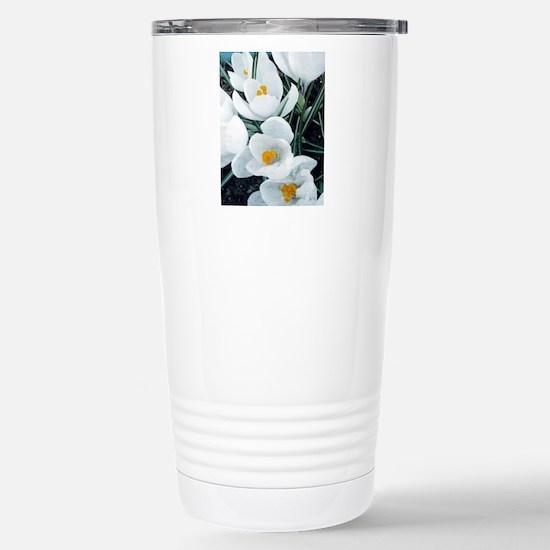 Crocus Stainless Steel Travel Mug