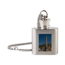 Piazza Independenza, Chiesa San Roc Flask Necklace