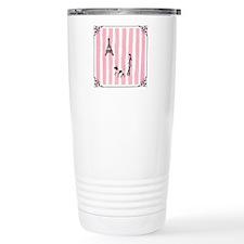 A walk in Paris Pink Travel Mug