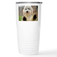 Goldendoodle Puppy Dog Travel Mug