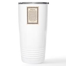 desiderata de lis rose  Travel Mug