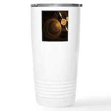 gc_round_cocktail_plate Travel Coffee Mug
