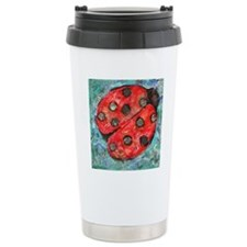 Lady Bug Travel Coffee Mug