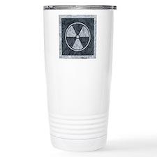 Distressed Gray Radiati Travel Mug