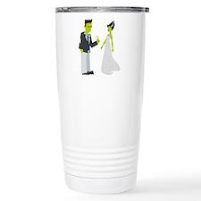 Frankenstein & Bride Travel Mug