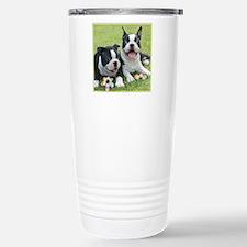 Easter boston terriers Travel Mug