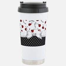 Ladybug Dreams Stainless Steel Travel Mug