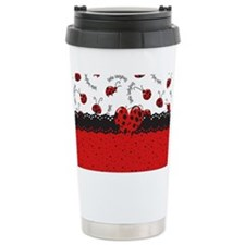 Ladybugs Dotty World Travel Mug
