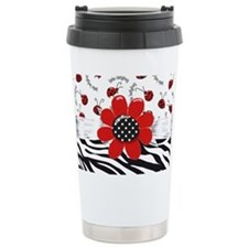 Wild Ladybugs Travel Mug