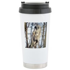 Great Gray Owl Travel Mug