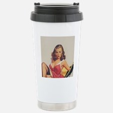Classic Elvgren 1950s V Travel Mug