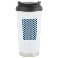 Monaco Blue, Dusk Blue  Travel Mug