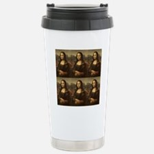 Vintage Mona Lisa Travel Mug