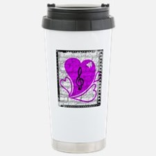 Heartbreak notes logo Stainless Steel Travel Mug