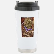 Macrophage attacking a  Travel Mug